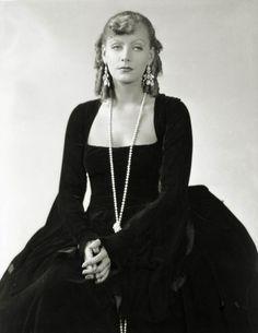 Greta Garbo, photo by George Hurrell, 1930