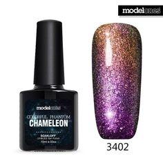 Modelones 1Pcs New Arrival Colorful Phantom Chameleon 10ml UV LED Nail Gel Choose Any 1 Color Soak Off UV Nail Polish