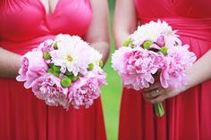 peonies pink Bridesmaid Dresses, Wedding Dresses, Peonies, Bouquet, Crown, Pink, Fashion, Bridesmade Dresses, Bride Dresses