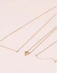 Collares geométricos de Pull&Bear