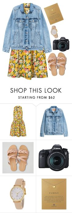 """""""What do you want to be when you grow up?"""" by classygrace ❤ liked on Polyvore featuring Topshop, American Eagle Outfitters, Eos, Kate Spade and Dogeared"""