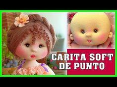 TUTORIAL CARITA DE MUÑECA SOFT DE PUNTO CON OREJITAS video - 472 - YouTube Ramadan Crafts, Sock Dolls, Knitted Dolls, Diy Doll, Fabric Dolls, Doll Face, Beautiful Dolls, Diy For Kids, Crochet