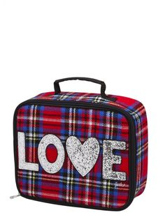 Tartan plaid lunch tote girls backpacks & school supplies accessories s Justice Bags, Shop Justice, Justice Stuff, Girl Backpacks, School Backpacks, Justice School Supplies, Girls Lunch Boxes, Cool Pencil Cases, Lunch Tote