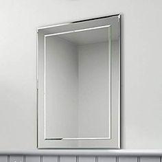 X 50cm W H Plain Wall Mounted Neue Design Bathroom Mirror Modern Stylish With Shelves Double Rectangular 70cm