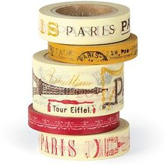 paris paper washi tape | paper-source.com