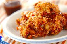 「カリカリお好み焼き」のレシピ