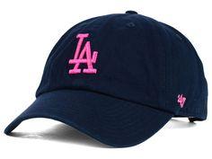 488bad10714 Los Angeles Dodgers  47 MLB Womens Clean Up Cap