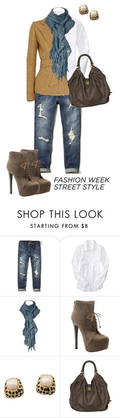 """Fashion Week Street Style"" by kimberlyn303 ❤ liked on Polyvore featuring Hollister Co., Old Navy, Ralph Lauren Collection, Luichiny and Louis Vuitton"