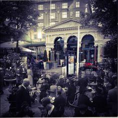 Restaurant Kappeli Terrace. Midsummer 1941 - August 2014. Timera photo.