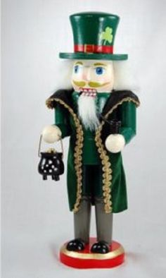 Wooden Irish Man Christmas Nutcracker