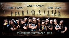 Softball team picture! #softball