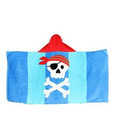 Look what I found on #zulily! Pirate Hooded Towel by CHIRP by Stephen Joseph #zulilyfinds