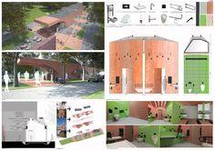 Competition boards.  FAAR architekci  #faararchitekci #krzysztoffaber Competition, Floor Plans, Boards, Diagram, Planks, Floor Plan Drawing, House Floor Plans
