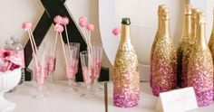 Glitter Party (this would be cool if it wen from gold to silver to black)