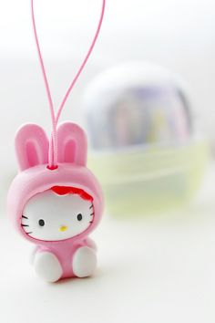 Hello Kitty want to be a #pink bunny ;)