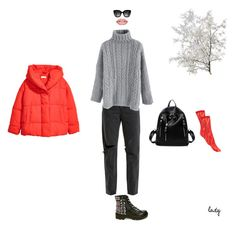 """""""#62"""" by cikolatakomasi on Polyvore featuring moda, Steve Madden, RE/DONE, Chicwish, H&M, Gucci, Forever 21 ve Fendi"""