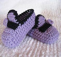 Baby Moccasins - via @Craftsy