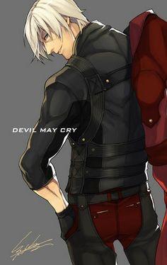 DMC Dante Concept Art | Dante - Devil May Cry 4 Fan Art (33575221) - Fanpop fanclubs