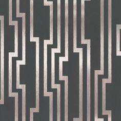 Velocity York Wallpaper Wallpaper York Gold Grays Art Deco Designer Wallpaper Foil Wallpaper Geometric Wallpaper Metallic Wallpaper , Mylar, Easy to clean , Easy to wash, Easy to strip Art Deco Wallpaper, Gold Wallpaper, Geometric Wallpaper, Wallpaper Roll, Designer Wallpaper, Wallpaper Designs, Bathroom Wallpaper, Luxury Wallpaper, Striped Wallpaper