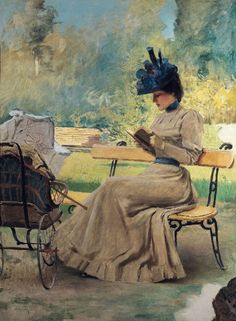 ✉ Biblio Beauties ✉ paintings of women reading letters & books - Vittorio Matteo Corcos