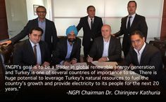 If you haven't read them yet, you can find the full details of the news regarding our latest renewable energy project in Turkey here on my blog as well as here on the New Generation Power website and NGP projects list.  We've published the information in multiple places so it is easily findable and discoverable.  http://www.chirinjeevkathuria.org/2015/04/turkey-project-renewable-energy.html