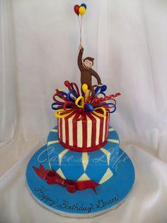 Curious George Birthday Cake  Is Life
