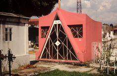 Pink Grave in Cuernavaca, Mexico.