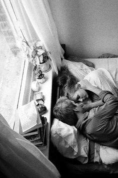 Being happy to look at your loved one in the morning and saying I love you.