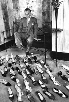 Manolo Blahnik, 1998. I need this picture in my house!