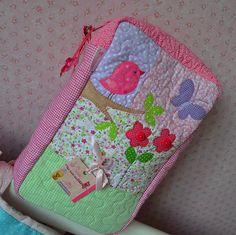 porta fraldas do Atelie Da nonna   aplicações Maria sica   Flickr