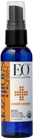 Hand Sanitizer Spray - 2 oz Organic Sweet Orange sanitizerspray2orn