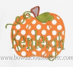 Personalized+Pumpkin+Shirt+Halloween+or++by+bowdaciousbaby+on+Etsy,+$18.00