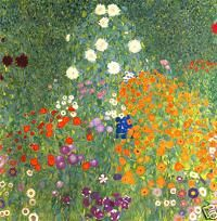 Gustav Klimt Farm Garden Print