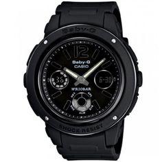 a7f4d890f1b9 Casio Baby-G Resin Band BGA-151-1B Black Women s Watch Baby G