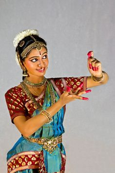Classical Indian Dance Pose