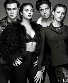 Riverdale cast for Elle Magazine