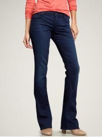 skinny jeans but still boot cut to help with your curves! <3 it!