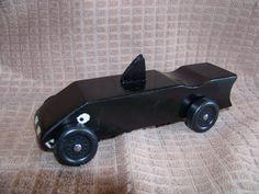 Shark Pine Wood Derby Car