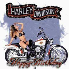 Naked Harley Birthday Wishes