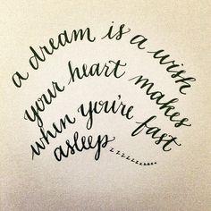 Handwritten Cinderella quote possible wall art #quotes #WallArt