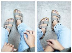 I'm obsessed with my Birkenstocks, need more stuff to wear them with!
