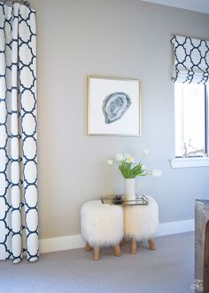 ZDesign At Home: Art Updates + Simple Tips for Hanging Art Decor, Custom Drapes, Custom Curtains, Home Decor, Pottery Barn Living Room, Beautiful Curtains, Blogger Home, Hanging Art, Living Decor