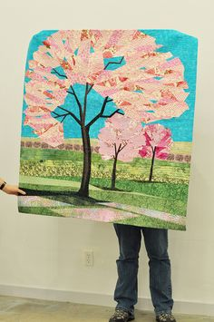 Yes!  Love this tree quilt!