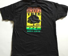 A personal favorite from my Etsy shop https://www.etsy.com/listing/276594688/vintage-john-denver-plant-a-tree-t-shirt