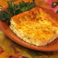 Crustless Caramelized Onions and Cheese Allrecipes.com