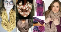1. 4 Hours Infinity Scarf When you need a quick and easy pattern to make an infinity scarf, you should try out this one. Within 4 hours you will be able to complete this project. The pattern is easy to memorize. In fact, if you use thicker yarn and a bigger hook you will complete …