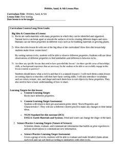 Salt and Sand Lab Report Paper