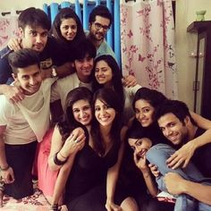 Buddies for life -Raqesh-Vashisth-Riddhi-Dogra-Asha-Negi-Surbhi-Jyoti-Sargun-Mehta-Ravi-Dubey-Vivian-Dsena-Vahbbiz-Shashank-Vyas-and-Rithvik-Dhanjani. Crazy Friends, Best Friends, Tv Actors, Actors & Actresses, Ravi Dubey, Vivian Dsena, Tv Couples, Best Friend Goals, Indian Bollywood
