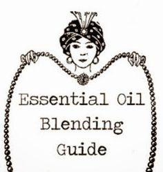Essential Oil Blending Guide (M-Z)