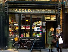 A.Gold shop, Spitalfields, London UK  I used live near to Brick Lane and I could just walk to this shop sometimes and have a yummy sandwich. I love going to this shop to find things to draw   as well!